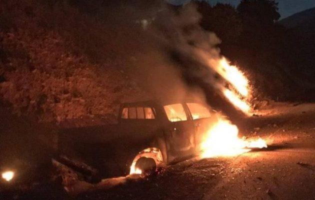 Οι Τούρκοι βομβάρδισαν οχήματα Κούρδων ανταρτών του PKK