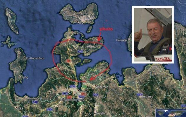 Διασυρμός Ακάρ: Έκανε βόλτες πάνω από τη Σμύρνη και ισχυρίστηκε ότι πέταξε στο Αιγαίο