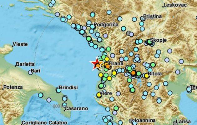 Σεισμός στην Αλβανία: Δυο τραυματίες και καταρρεύσεις σπιτιών