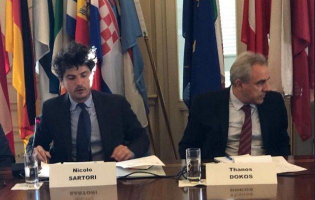 Το ΕΛΙΑΜΕΠ έφερε έναν Ιταλό να προτείνει συνδιαχείριση του Αιγαίου με τους Τούρκους