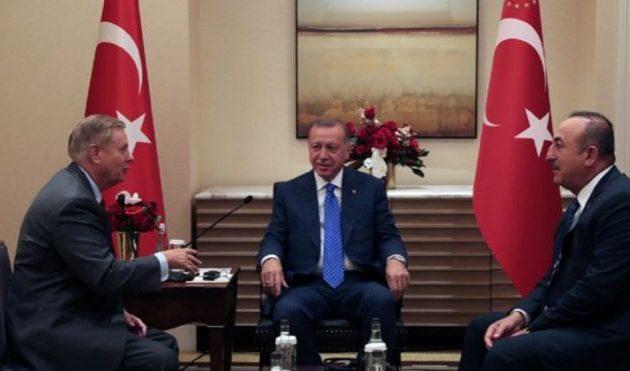 Ο Ερντογάν συναντήθηκε με τον απεσταλμένο του Τραμπ γερουσιαστή Γκράχαμ για «παζάρι»