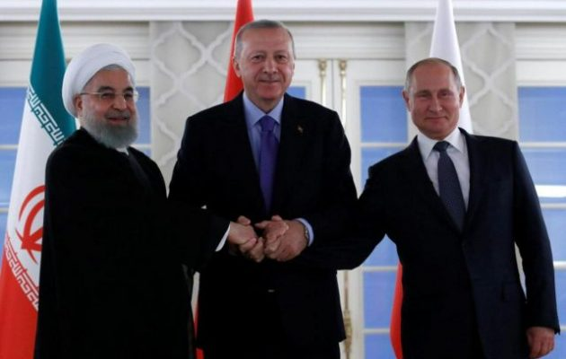 Τηλεδιάσκεψη κορυφής Πούτιν, Ροχανί και Ερντογάν για τη Συρία