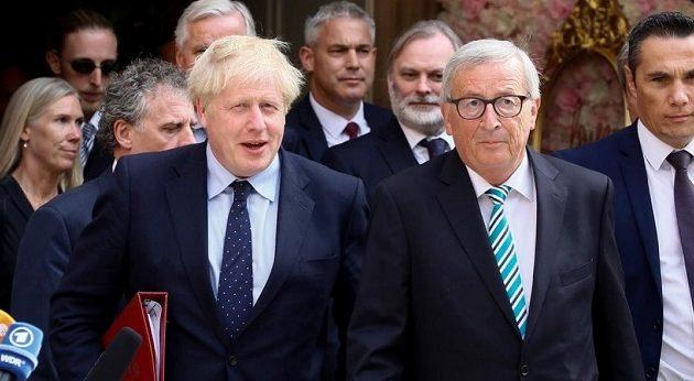 Γιούνκερ σε Τζόνσον: Δώσε μας εφαρμόσιμες λύσεις για το Brexit