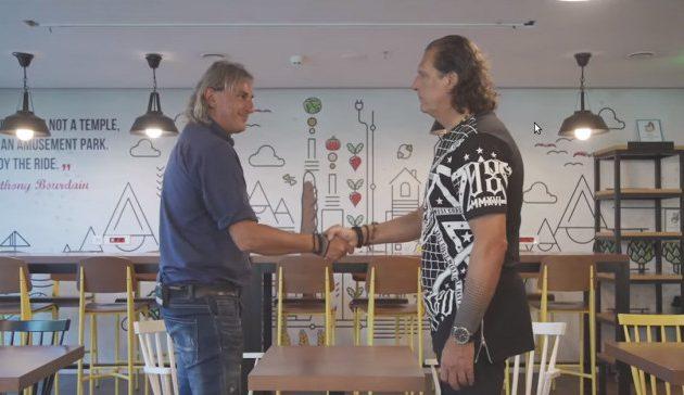 Ράμπο Vs Νίντζα: Μητρόπουλος και Καλιτζάκης μιλούν στον ΟΠΑΠ για το ντέρμπι των «αιωνίων» (βίντεο)