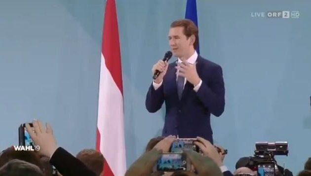 Νικητής των εκλογών στην Αυστρία ο Κουρτς με 37,1%