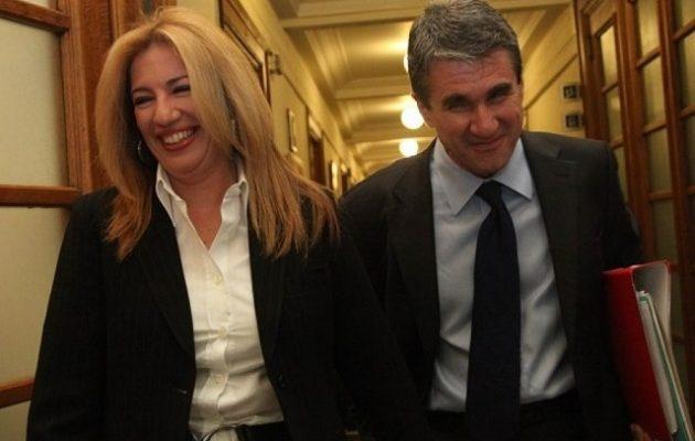 Η Γεννηματά στηρίζει Λοβέρδο για τη Novartis και ζητά «όλη την αλήθεια»