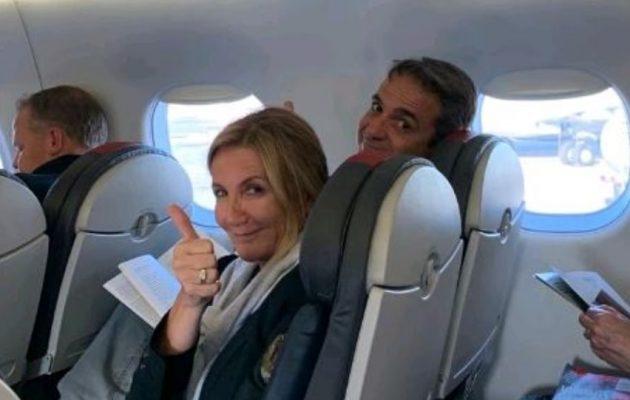 «Ψιλό γαζί» για το ταξίδι Μητσοτάκη στη Βοστώνη – Πώς απογειώθηκε από εκεί το κυβερνητικό αεροσκάφος;