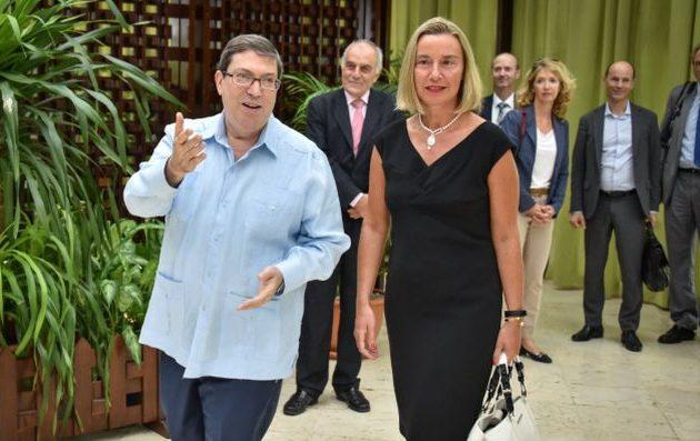 Φεντερίκα Μογκερίνι: Η ΕΕ είναι δεσμευμένη να βοηθήσει την οικονομία της Κούβας