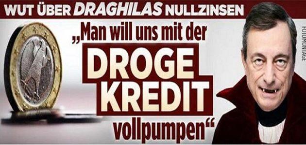Bild: «O κόμης… Ντράγκουλας ρουφάει τις καταθέσεις των Γερμανών»