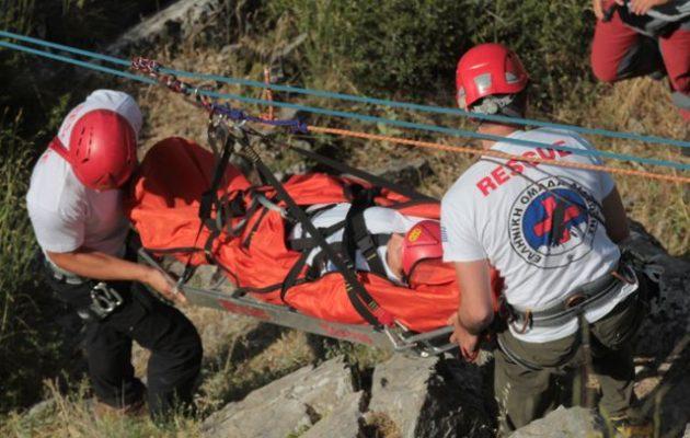 Ορειβάτης υπέστη ανακοπή στον Όλυμπο και έπεσε σε γκρεμό