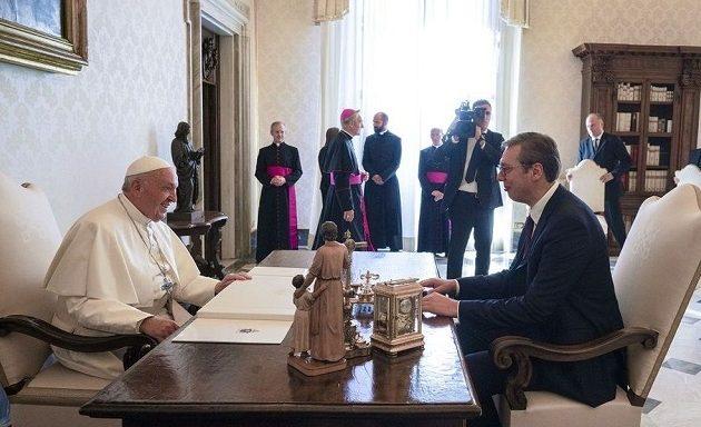 Πάπας Φραγκίσκος σε Βούτσιτς: Δεν θα αναγνωρίσουμε το Κόσοβο