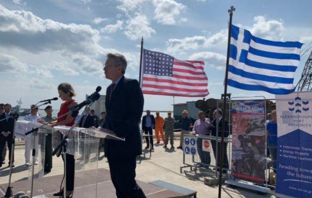 Τζέφρι Πάιατ στην Αλεξανδρούπολη: «Ως σύμμαχοι η σχέση μας είναι στο καλύτερο σημείο της»