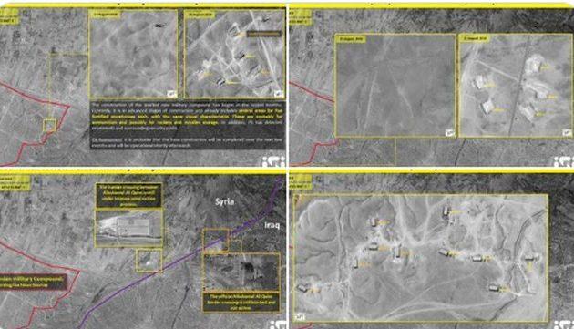 Το Ιράν κατασκευάζει μεγάλη βάση σε στρατηγικό συνοριακό πέρασμα μεταξύ Συρίας και Ιράκ