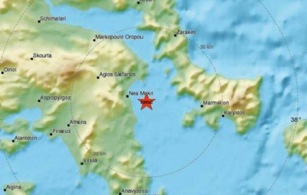 Σεισμός αισθητός στην Αττική – Δεν ήταν μεγάλος αλλά κουνηθήκαμε