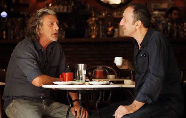 Ο τελευταίος καφές του Τάκη Σπυριδάκη με τον Ρένο Χαραλαμπίδη (βίντεο)