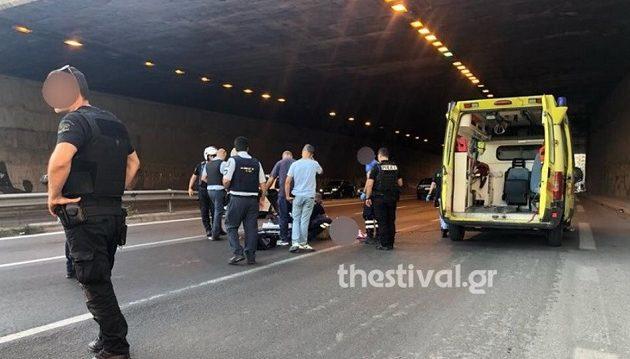 Θεσσαλονίκη: Πήδηξε από γέφυρα για να αυτοκτονήσει και έπεσε πάνω σε μοτοσικλετιστή
