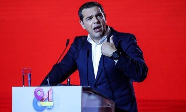 Τσίπρας: Είμαστε εδώ ως ο ισχυρός δημοκρατικός και προοδευτικός πόλος – Όχι στην οικοδόμηση νέου κράτους της Δεξιάς