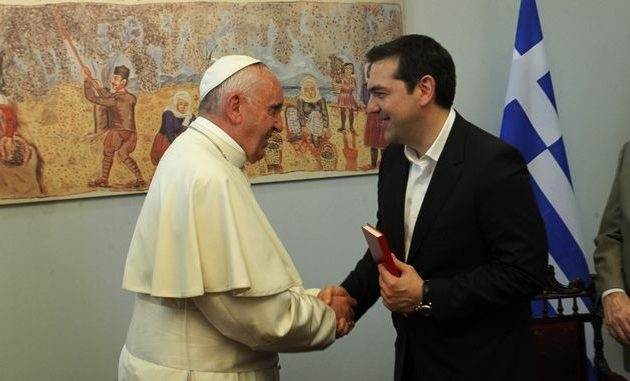 Με Πάπα και τη μισή ιταλική κυβέρνηση ο Τσίπρας στη Ρώμη (βίντεο)