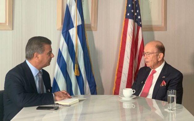 Γουίλμπουρ Ρος: «Αγαπάμε την Ελλάδα – Είμαστε πολύ υπέρ της Ελλάδας» – Το σχόλιο Πάιατ