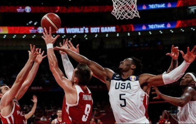 Μουντομπάσκετ: Διασυρμός για ΗΠΑ – Έχασαν και από την Πολωνία