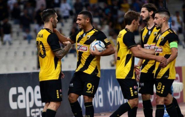 Super League: ΑΕΚ-Λαμία 2-0