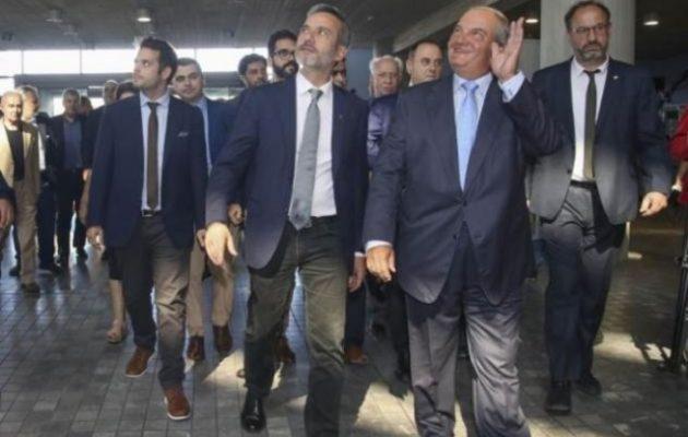 Εμφανίστηκε ο Καραμανλής και πήγε στον «αντάρτη» της Ν.Δ. στη Θεσσαλονίκη