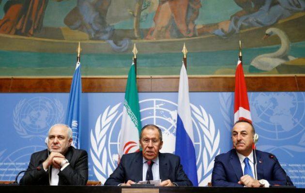 Λαβρόφ και Ζαρίφ χαρακτήρισαν «παράνομη» την κατοχή των συριακών πετρελαιοπηγών από τις ΗΠΑ