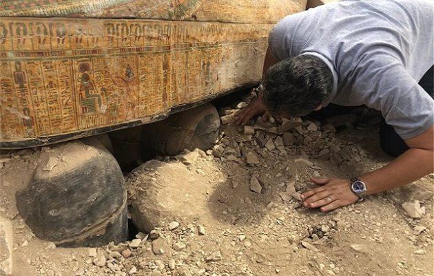 Ανακαλύφθηκε το μεγαλύτερο εύρημα των τελευταίων ετών στην Αίγυπτο (φωτο)