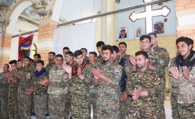 Αρμένιοι μαχητές στο πλευρό των Κούρδων υπερασπιστών της Ρας Αλ Αΐν