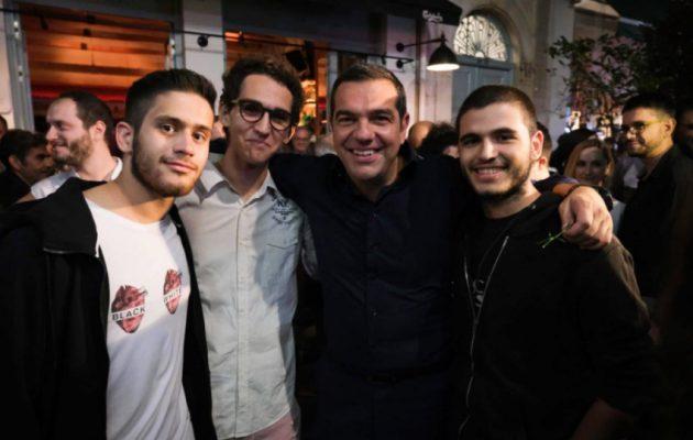 Τσίπρας: Καλούμε τους νέους να πάρουν τον ΣΥΡΙΖΑ στα χέρια τους