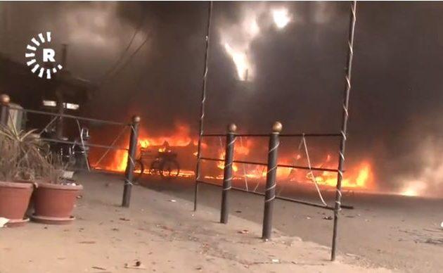 Αυτοκίνητο βόμβα ανατινάχθηκε στη συροκουρδική πόλη Καμισλί