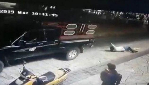Έδεσαν δήμαρχο πίσω από αυτοκίνητο και τον έσερναν στο δρόμο (βίντεο)