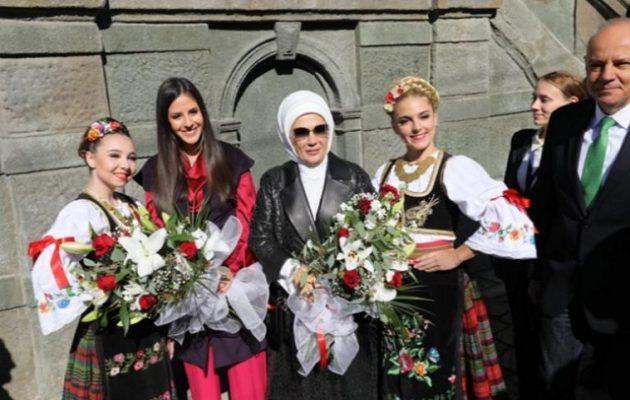 Βελιγράδι: Οι νταήδες σωματοφύλακες της Εμινέ Ερντογάν ήρθαν στα χέρια με πολίτες