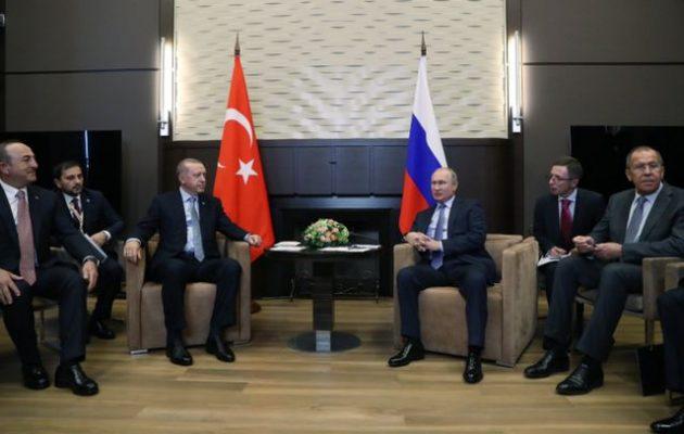 Τι συμφώνησαν Πούτιν και Ερντογάν για τη βορειοανατολική Συρία – Οι Κούρδοι