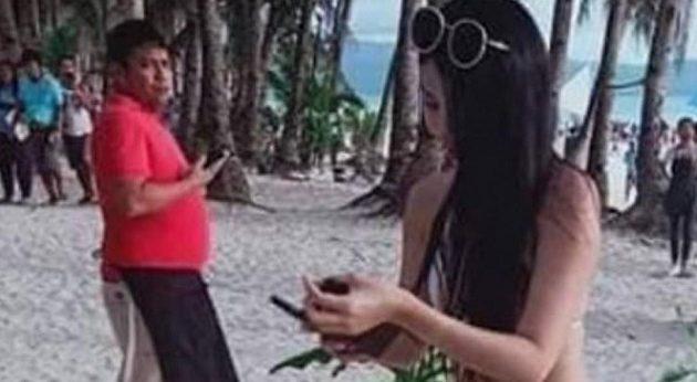 26χρονη τουρίστρια «έφαγε» πρόστιμο γιατί φορούσε μικροσκοπικό μπικίνι (φωτο)