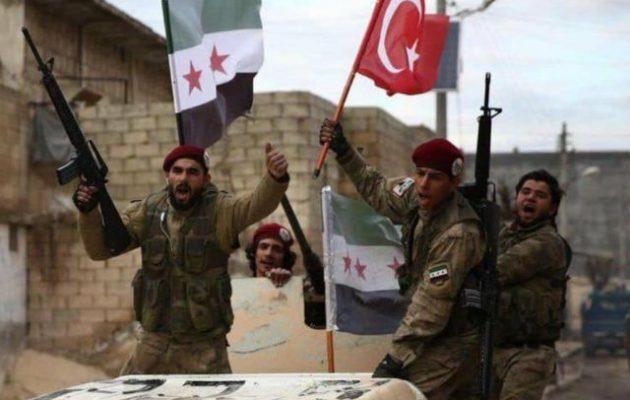 Οι Τούρκοι συνεχίζουν την εισβολή στη Β/Α Συρία – Μάχες με Κούρδους και Σύρους