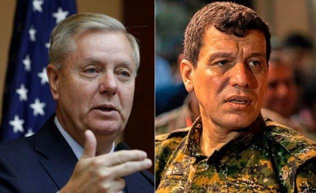 Ο Γκράχαμ μίλησε με τον στρατηγό Μαζλούμ και συμμερίζεται τις ανησυχίες του για εθνοκάθαρση