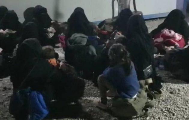 Γυναίκες της οργάνωσης Ισλαμικό Κράτος αποπειράθηκαν να αποδράσουν από το Αλ Χολ (βίντεο)