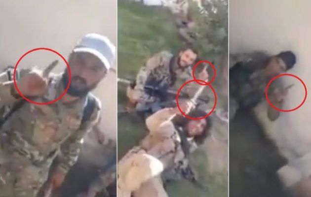Τζιχαντιστές του Ερντογάν σε Κούρδους: Σε λίγες ώρες θα σας αποκεφαλίσουμε όλους (βίντεο)
