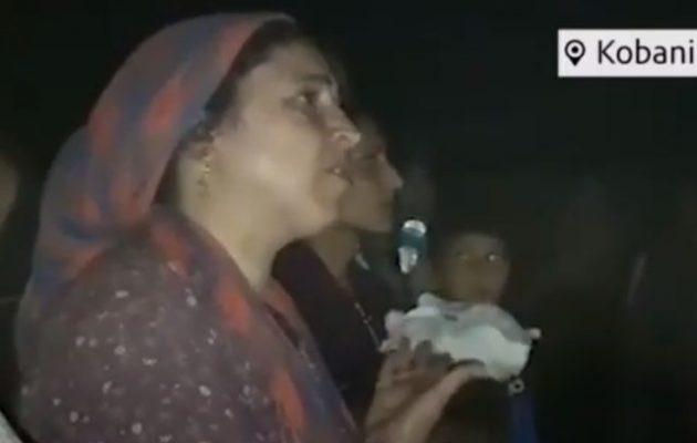 Συγκλονίζει η μάνα που ξεσπά στους Αμερικανούς: «Ποιος είναι ο Ερντογάν να μας επιτίθεται;» (βίντεο)