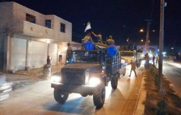 Ρώσοι διέσχισαν τον ποταμό Ευφράτη – Ο συριακός στρατός εισήλθε στην Κομπάνι