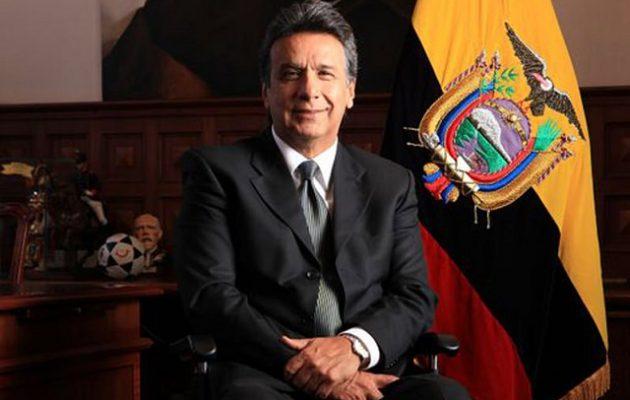 Σχέδιο αποσταθεροποίησης του Ισημερινού κατήγγειλε ο πρόεδρος Μορένο