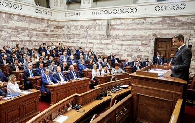 ΣΥΡΙΖΑ: Ο Μητσοτάκης δεν πείθει ούτε τους βουλευτές του