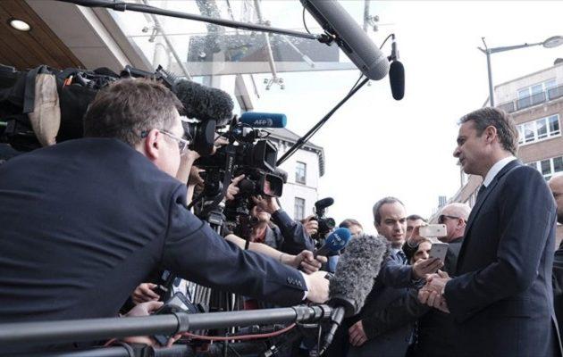 ΣΥΡΙΖΑ: Οβιδιακή κυβίστηση Μητσοτάκη για τη Βόρεια Μακεδονία
