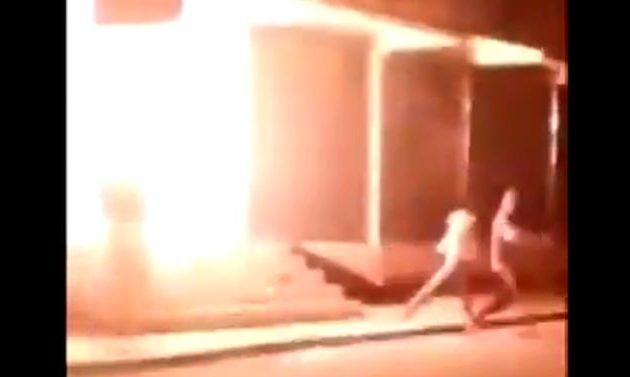 Ξεκίνησαν επιθέσεις Κούρδων μέσα στην Τουρκία – Έριξαν μολότοφ σε κτίριο στη Νίσιβη (βίντεο)