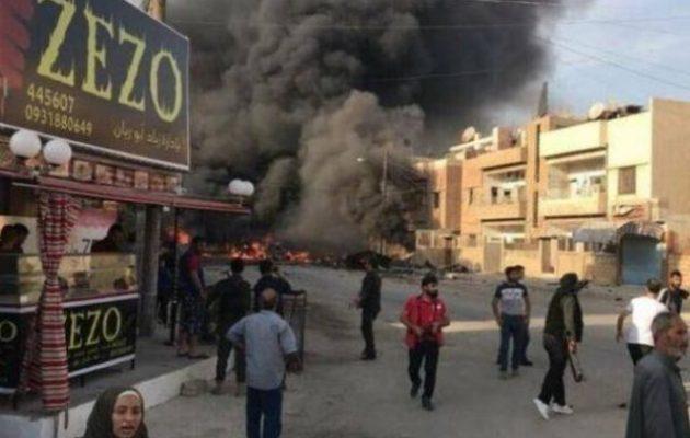 Το Ισλαμικό Κράτος ανέλαβε την ευθύνη για την έκρηξη με αυτοκίνητο-βόμβα στο Καμισλί