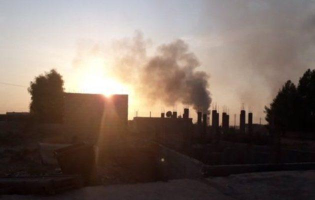Η τουρκική πολεμική αεροπορία βομβάρδισε το Καμισλί με αμερικανική φρουρά