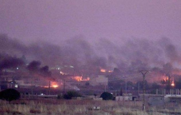 100.000 οι εκτοπισμένοι άμαχοι από την τουρκική εισβολή στο συριακό Κουρδιστάν