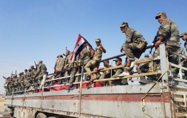 Σε τροχιά σύγκρουσης με Τούρκους και τζιχαντιστές ο συριακός στρατός