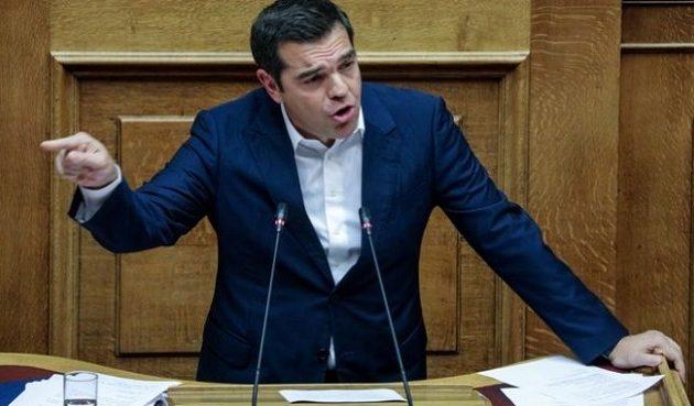 Τσίπρας σε Μητσοτάκη: Κάνετε εκπτώσεις στα εθνικά θέματα – Πού είναι η φωνή σας στις κραυγές Ερντογάν;